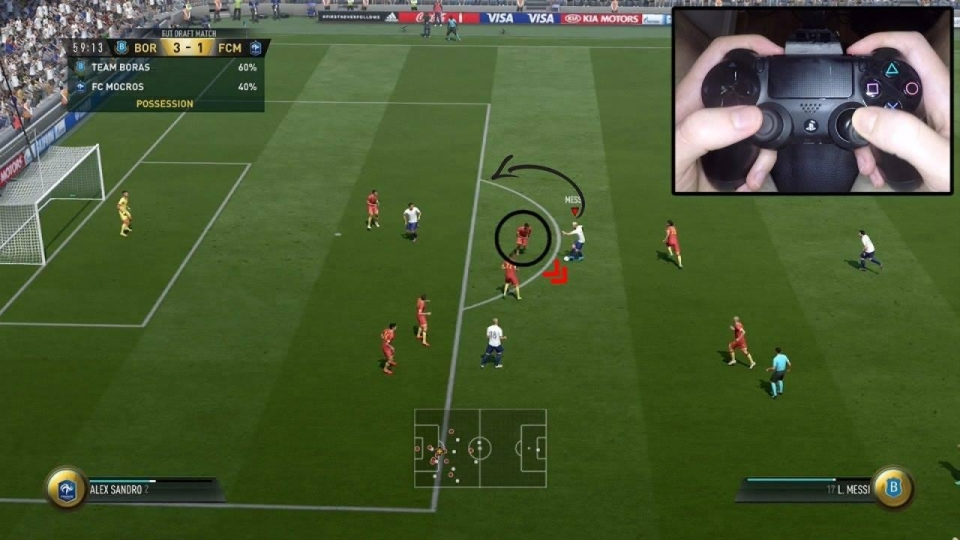Ivan regularly posts hints and tips about FIFA 18 – from passing tutorials to finishing masterclasses