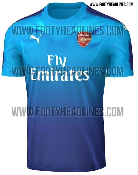 the best attitude 6a9af 1e3ae LEAKED: Arsenal's new away kit looks like a Primark version ...