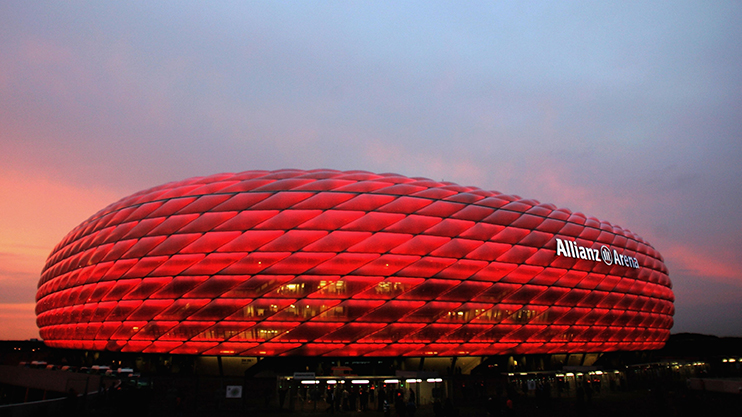 The Allianz Arena will be making a return  as expected