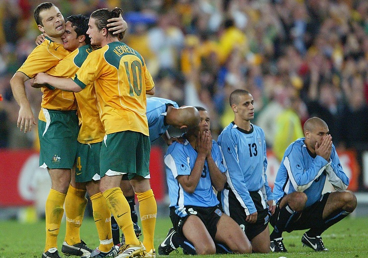 FIFA 2006 World Cup Playoff - Australia v Uruguay