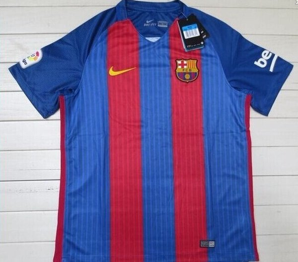 the best attitude 67af1 16e41 The new Barcelona home kit has been leaked