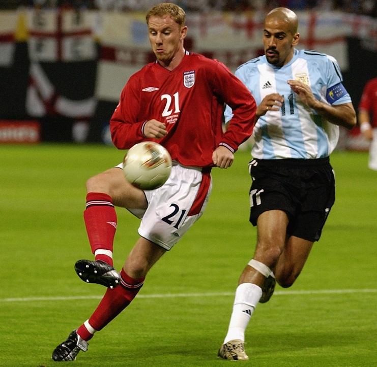 Nicky Butt of England