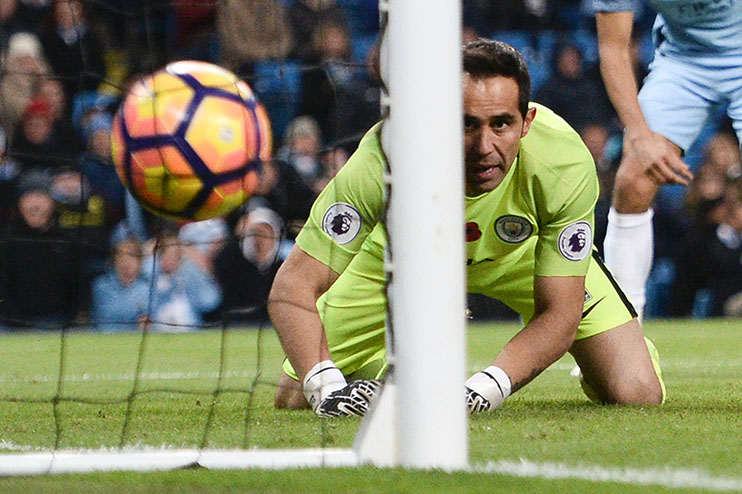 ec295249148 Astonishing Claudio Bravo statistic emerges after Man City flop s ...