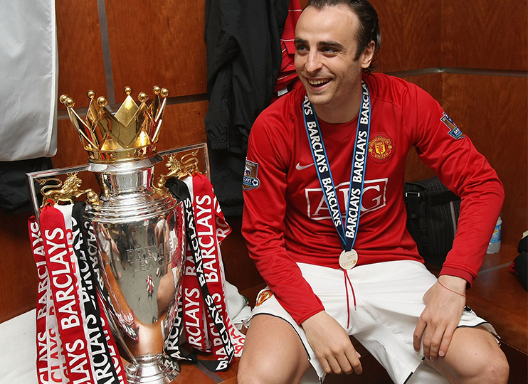 Former Man United striker Dimitar Berbatov
