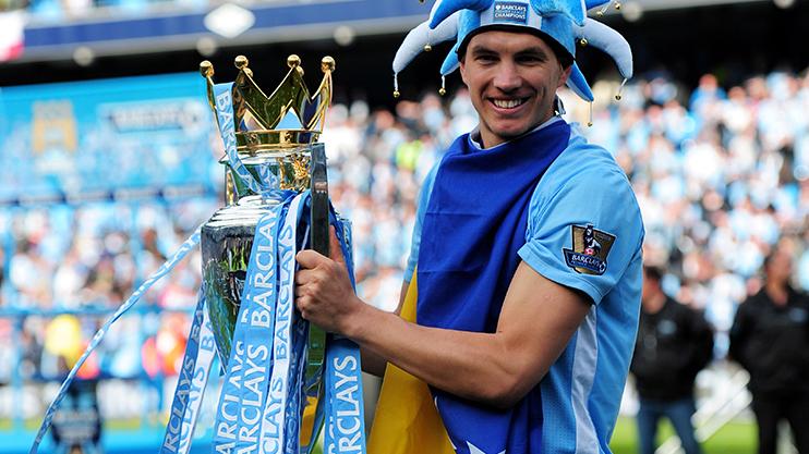 Former Man City striker Edin Dzeko