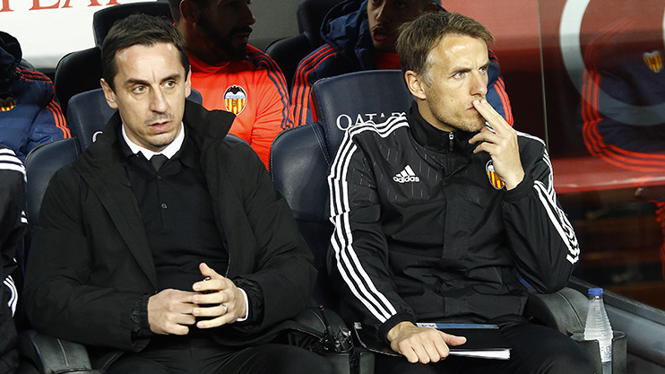 Gary Neville sacked as Valencia manager after just four ...