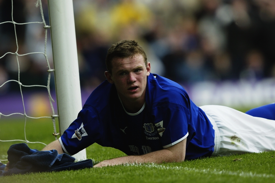 Rooney is now back at his boyhood club
