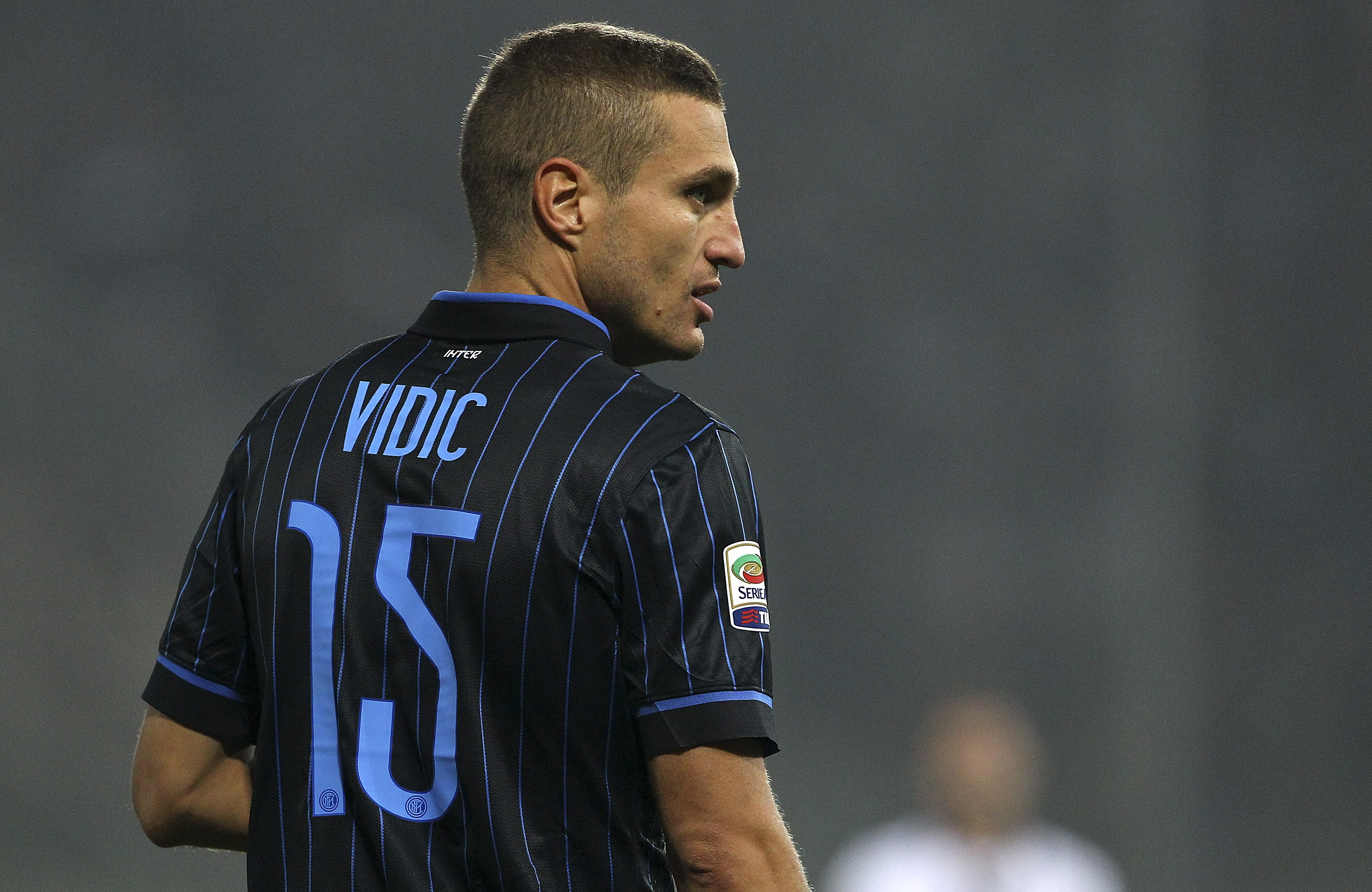 Vidic finished his career at Inter