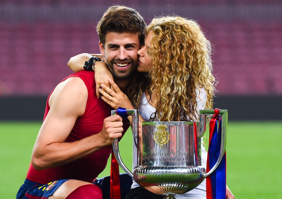 Pique and Shakira have been together since the 2010 World Cup