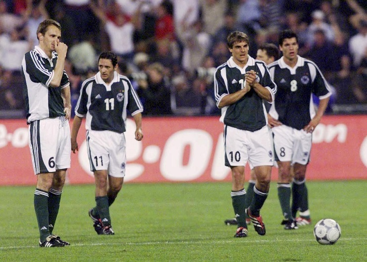 FUSSBALL: WM QUALIFIKATION 2002/GER - ENG