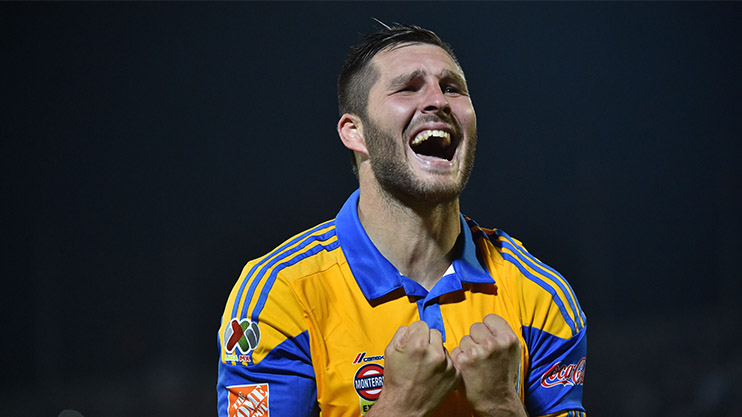Gignac is now at Tigres in Mexico