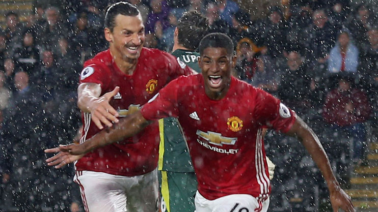 Will Zlatan's absence actually help Rashford?