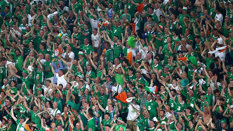 Ireland-Fans