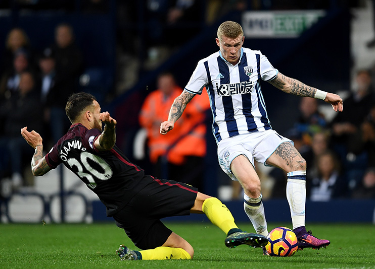West Brom star James McClean refuses to wear a poppy