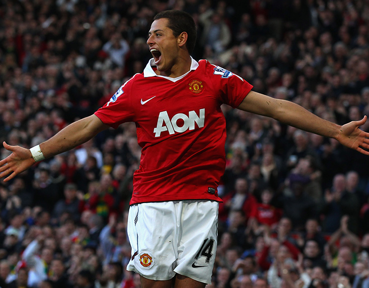 Former Man United striker Javier Hernandez