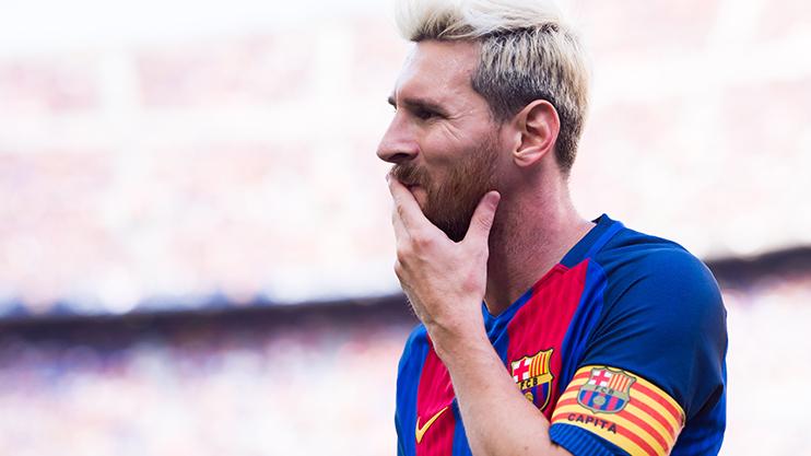 Barcelona Blonde Ambition For Leo Messi As Com