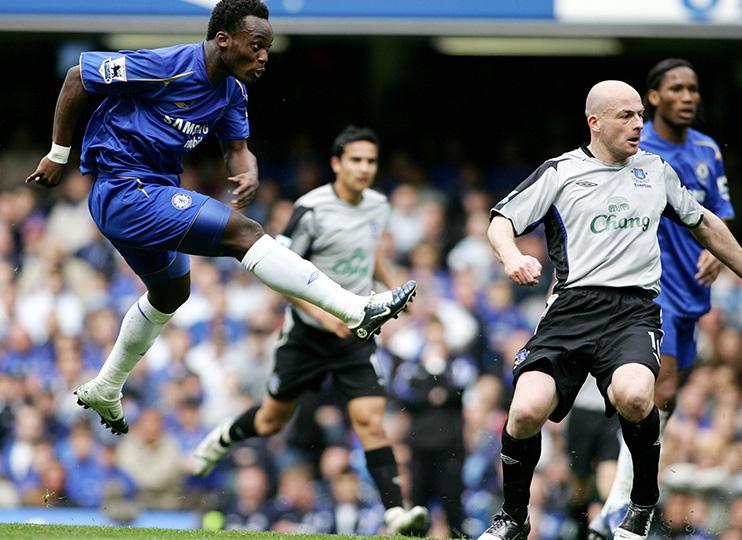 Former Chelsea midfielder Michael Essien