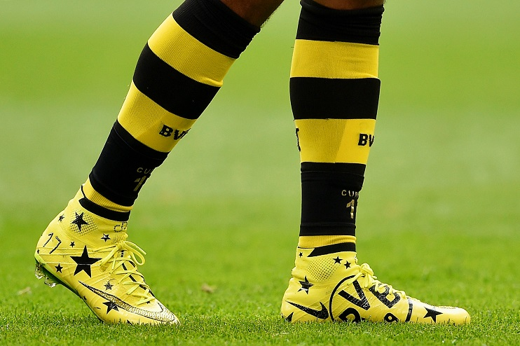 0014164a0a27 Pierre-Emerick Aubameyang s new customised boots are magnificent ...