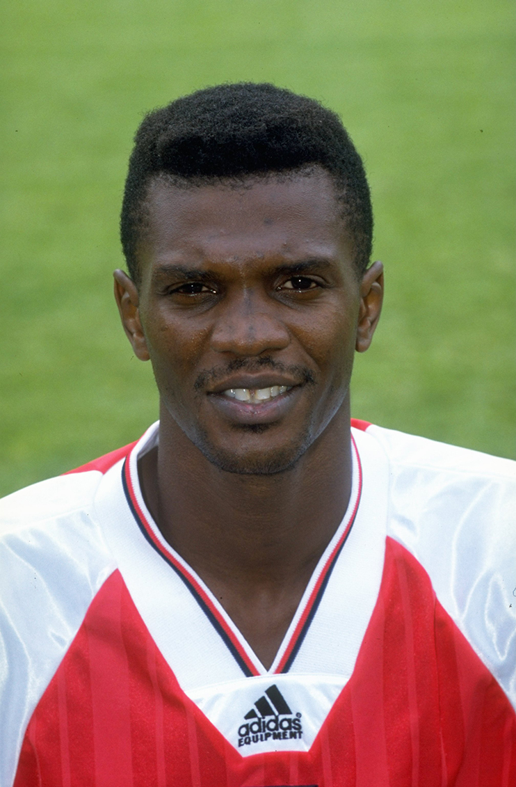 5a8a68ab5 1992  Portrait of Paul Davis of Arsenal during a photocall at Highbury  Stadium in London