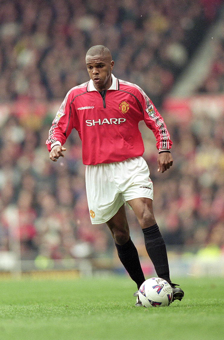South Africa midfielder Quinton Fortune