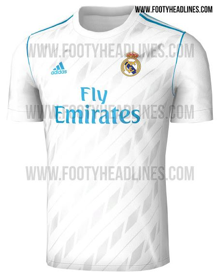 official photos cdf57 86652 Real Madrid's new kit will make you take a dip in the ...