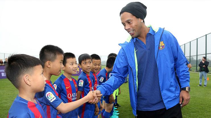 Ronaldinho-china