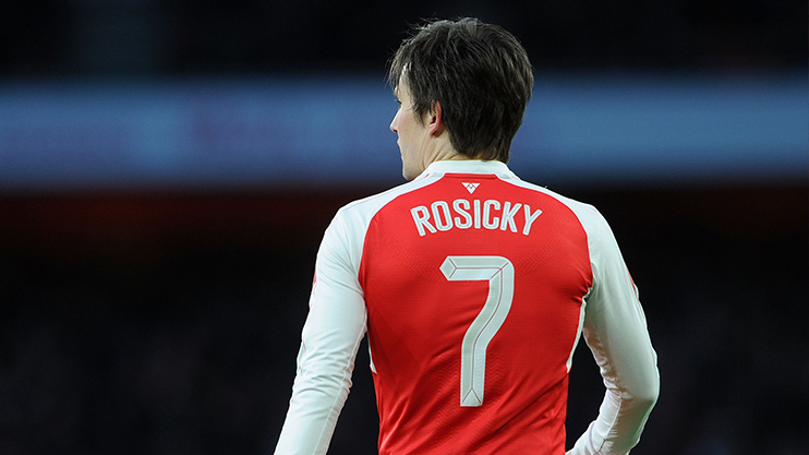 Rosicky is a cult hero at Arsenal