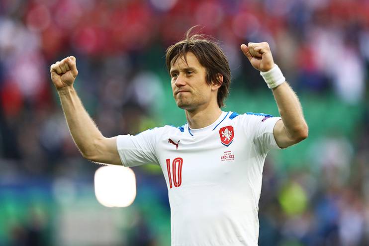 Rosicky is one of the greatest Czech players of all time