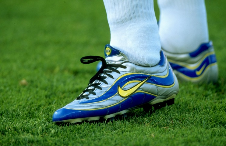 A close-up of Ronaldo