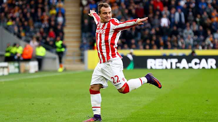 Xherdan Shaqiri has the credentials to make life very difficult for Arsenal