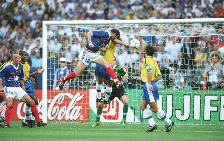FUSSBALL: WM FRANCE 1998, BRASILIEN