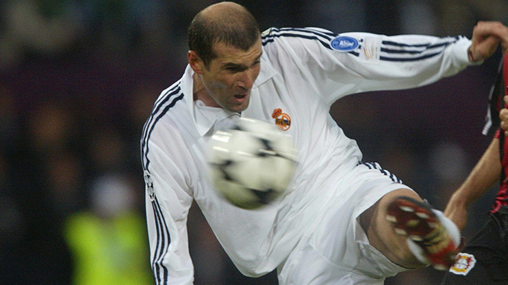 Zidane is the only player Messi has asked