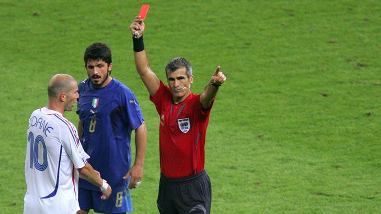 طرد زيدان في نهائي كأس العالم 2006