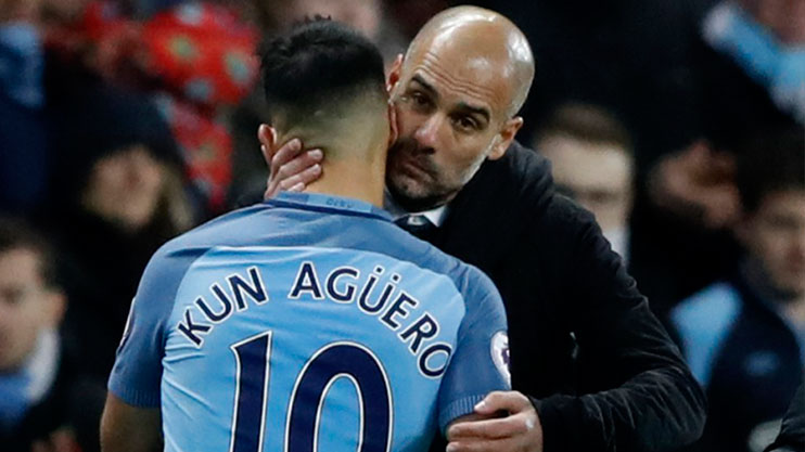 Aguero is not playing by Pep's rules
