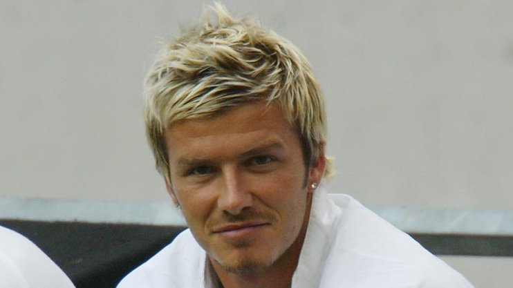 David Beckham Debut Can You Guess The Hairstyles