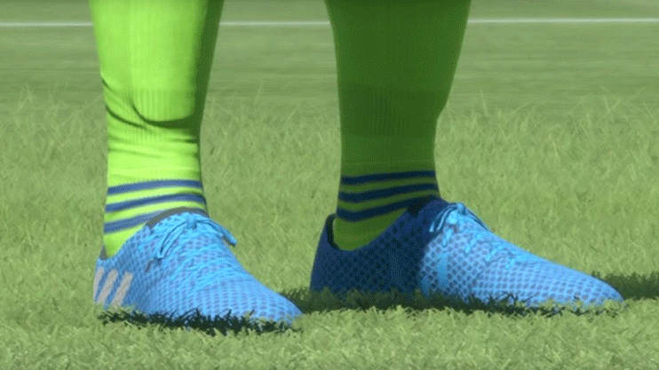 FIFA 14's engine is capable of incredible detail, if you know how to tweak it