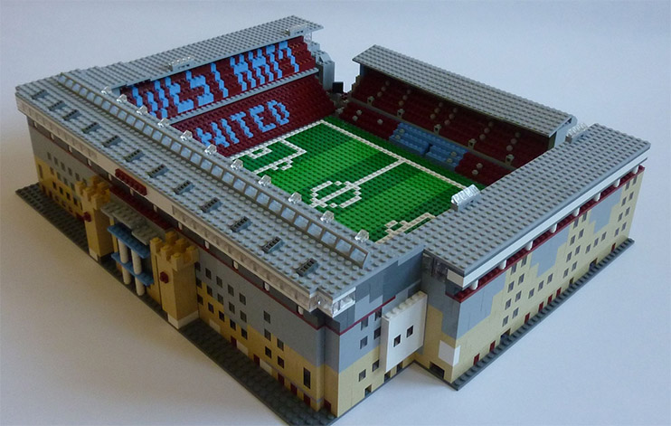The man building all 92 football league stadiums...out of LEGO!