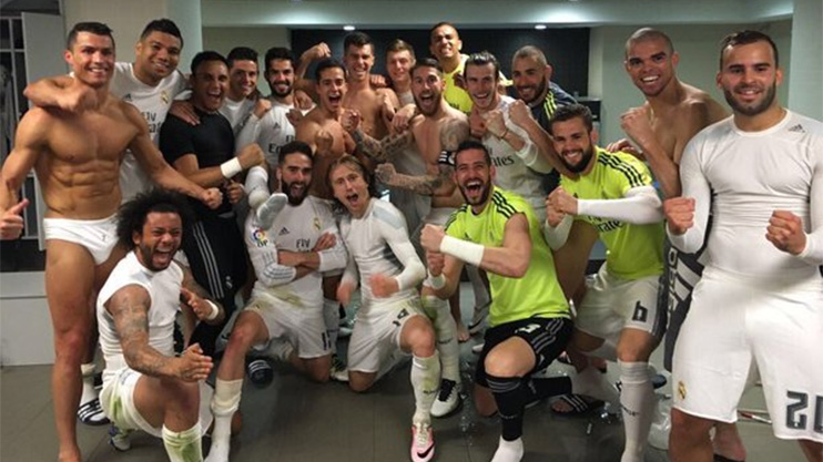 Cristiano Ronaldos Clasico celebration continues to get