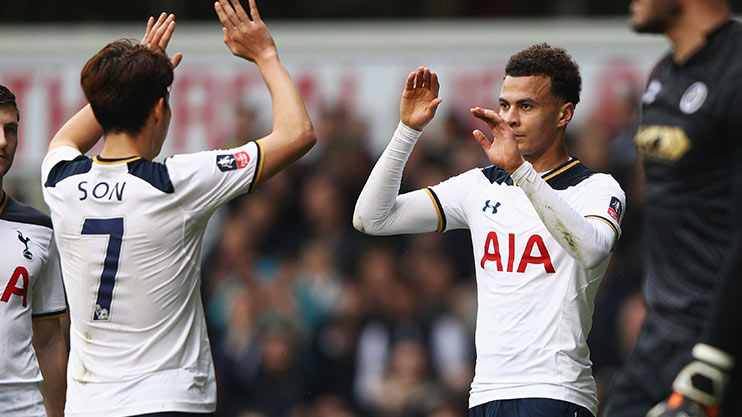 Alli has been in electric form this season
