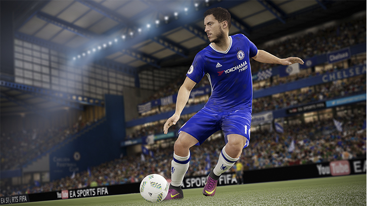 Animation was sometimes clunky and unnatural in FIFA 17 – but we're confident EA will smooth things out in FIFA 18