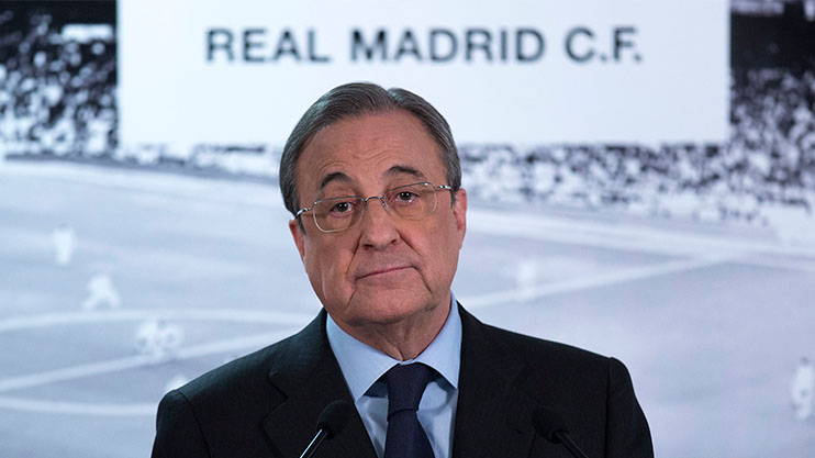 Florentino Perez is happy to sell his prized asset