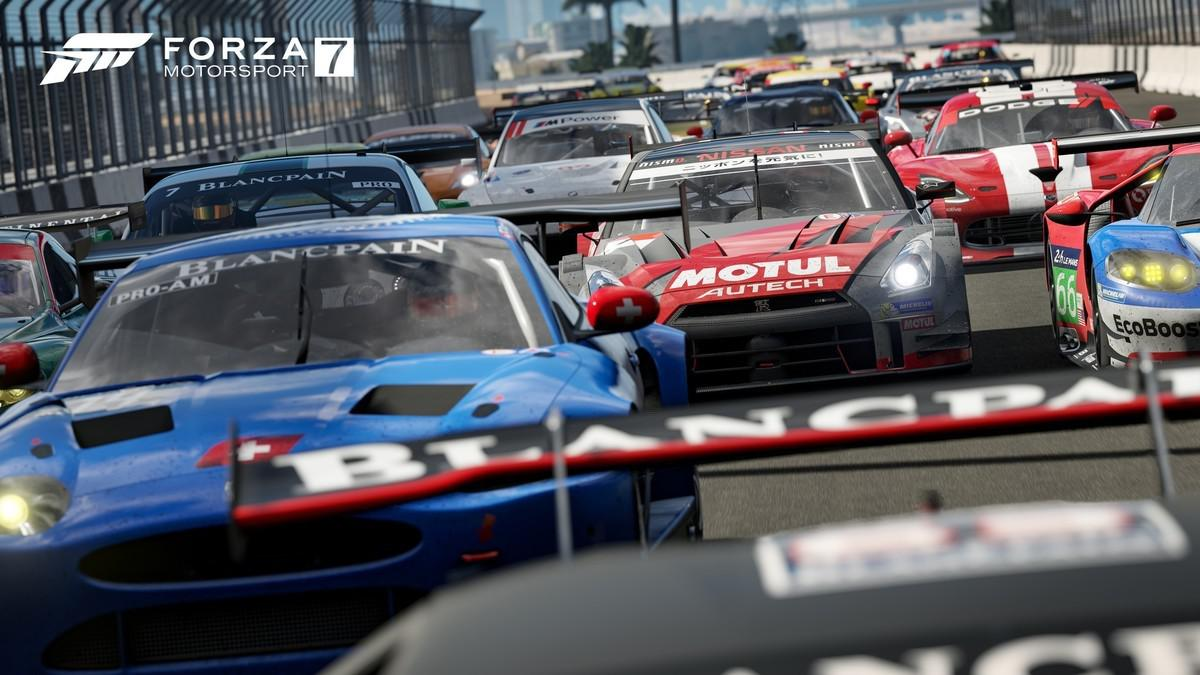Forza Motorsport 7 will be one of the first games to arrive for X
