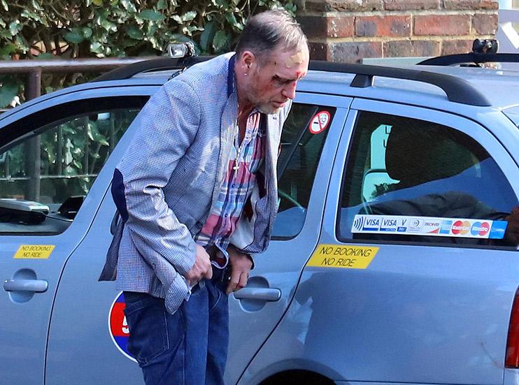 Paul Gascoigne losing battle with booze