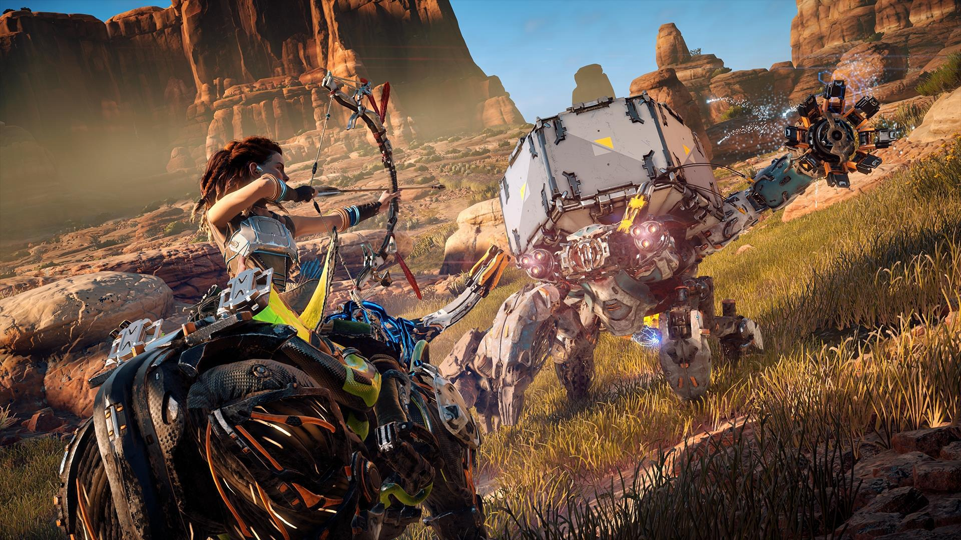 Horizon Zero Dawn is arguably the best-looking game ever made and is a wonderful showcase for Pro