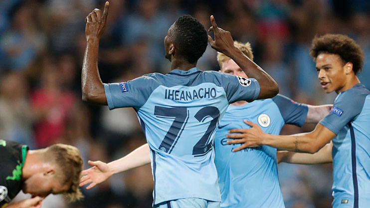 Iheanacho has scored seven times for City this season