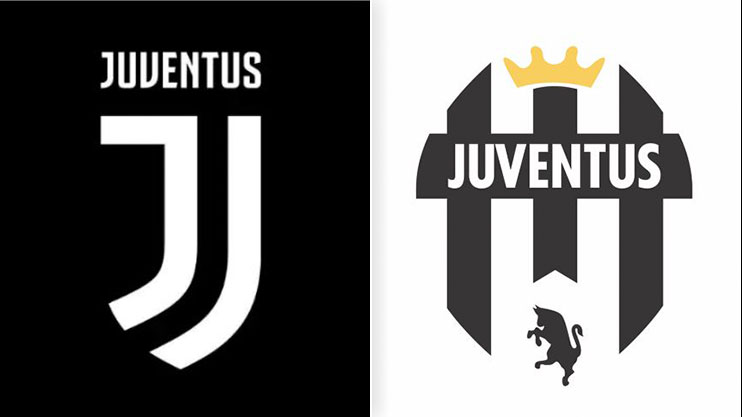pretty nice 87a07 9b44e 5 designs that are MUCH better than Juventus' new badge