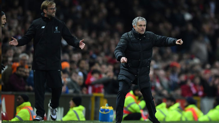 Klopp and Mourinho go face to fact on Saturday
