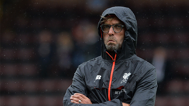 Klopp is the master of the facial expression