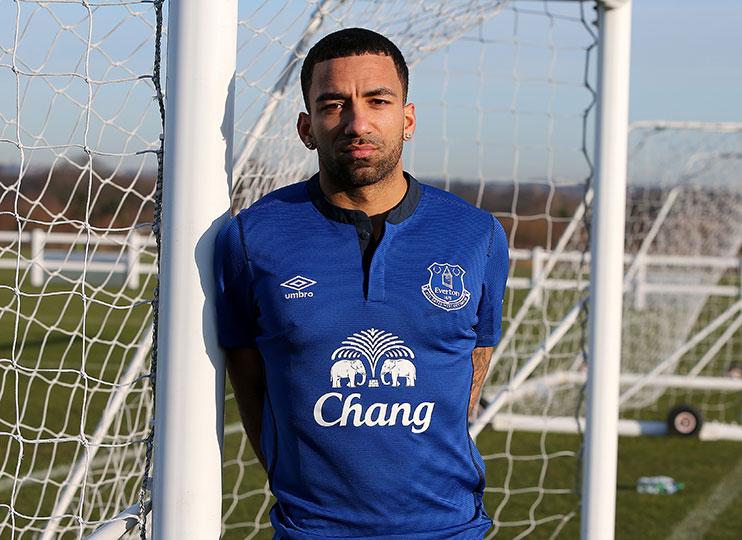 Aaron Lennon now looks sarcastically pleased to join Everton