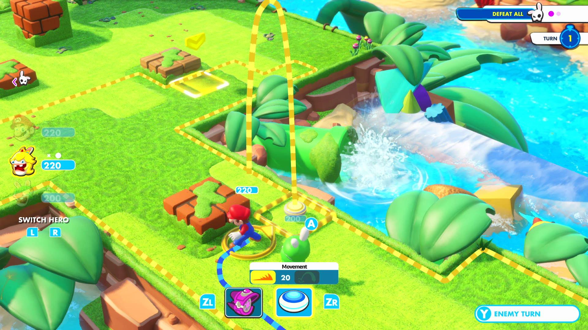 Mario and Rabbids Kingdom Battle, which arrives in August, is another huge exclusive for the Switch
